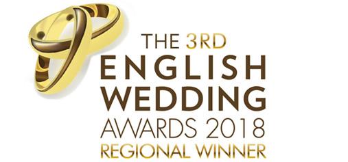 English Wedding Awards winner